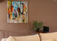 gobelin, tkanina unikatowa, wall hanging tapestry