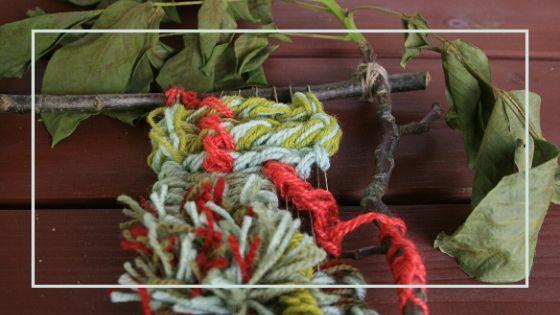 tkactwo, tkanie na ramie, gobelin, tkanina unikatow